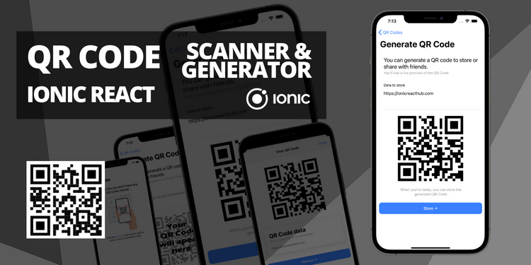 An app that lets you store scanned and generated QR codes