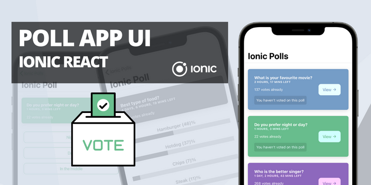 A poll app with social sharing