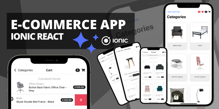 A fully functional template for e-commerce