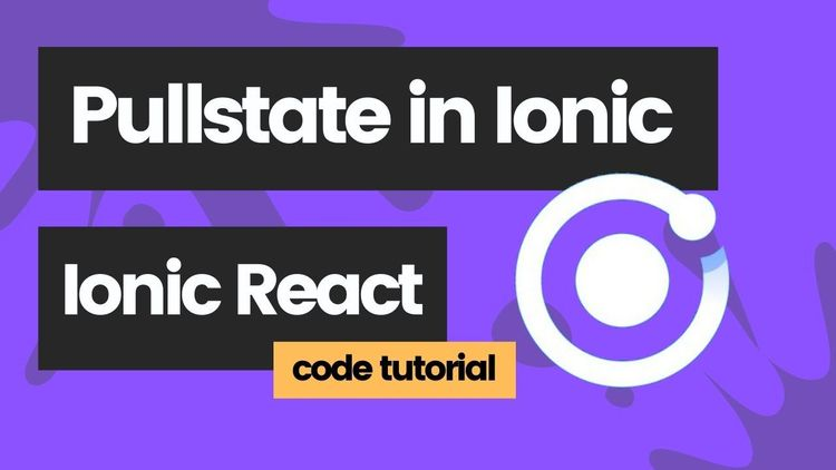 How to use Pullstate global state management in Ionic React