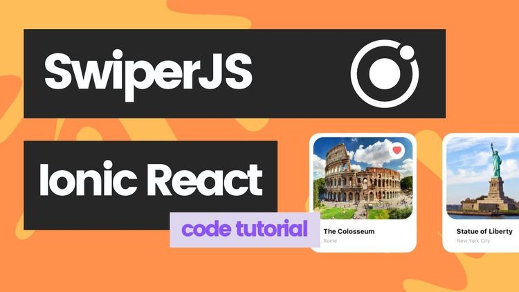 How to use SwiperJS with Ionic (Swiper in Ionic Framework with React)