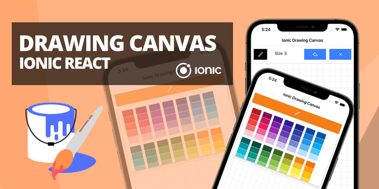 A drawing canvas app with editable options
